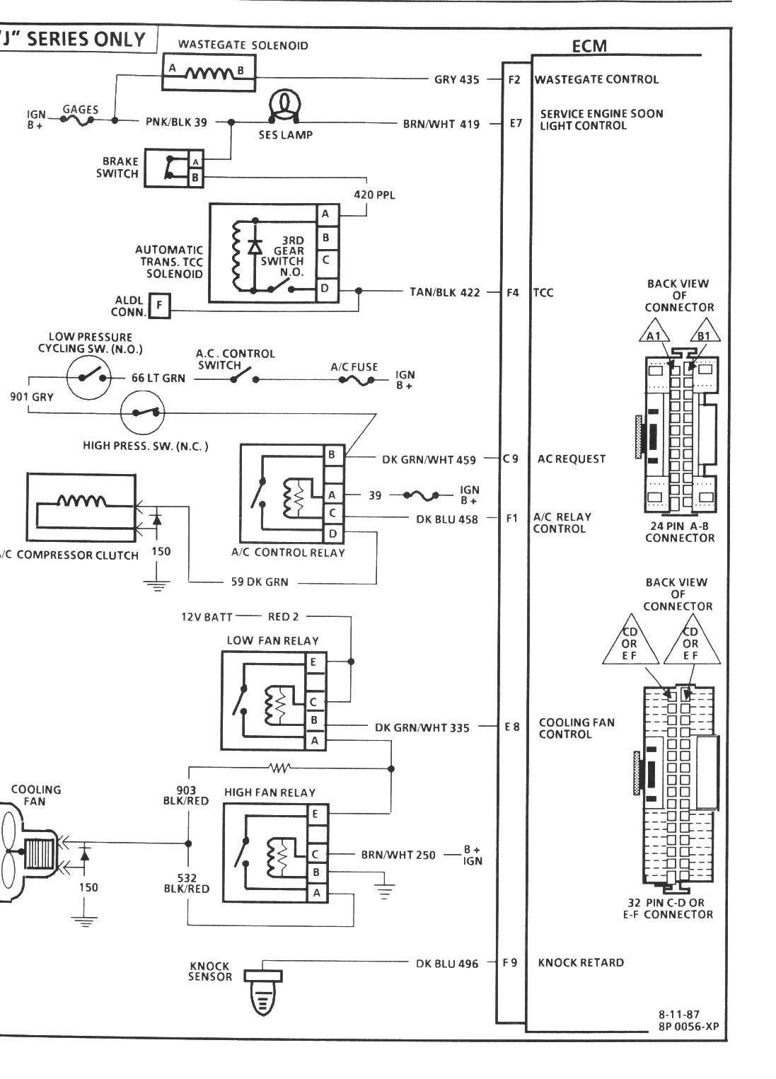 Ddec 3 ecm wiring diagram on nwstp forum AC Servo Motor Wiring Diagram DDEC 6 Wiring Diagram